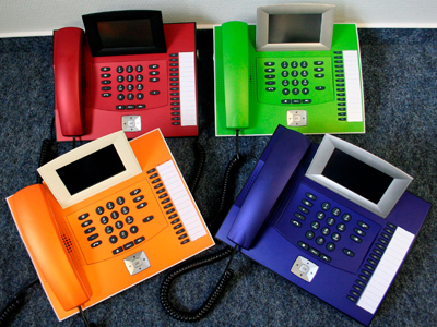 bunte Telefone